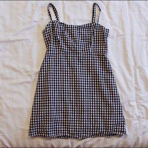 Honey Punch Gingham Cami Dress